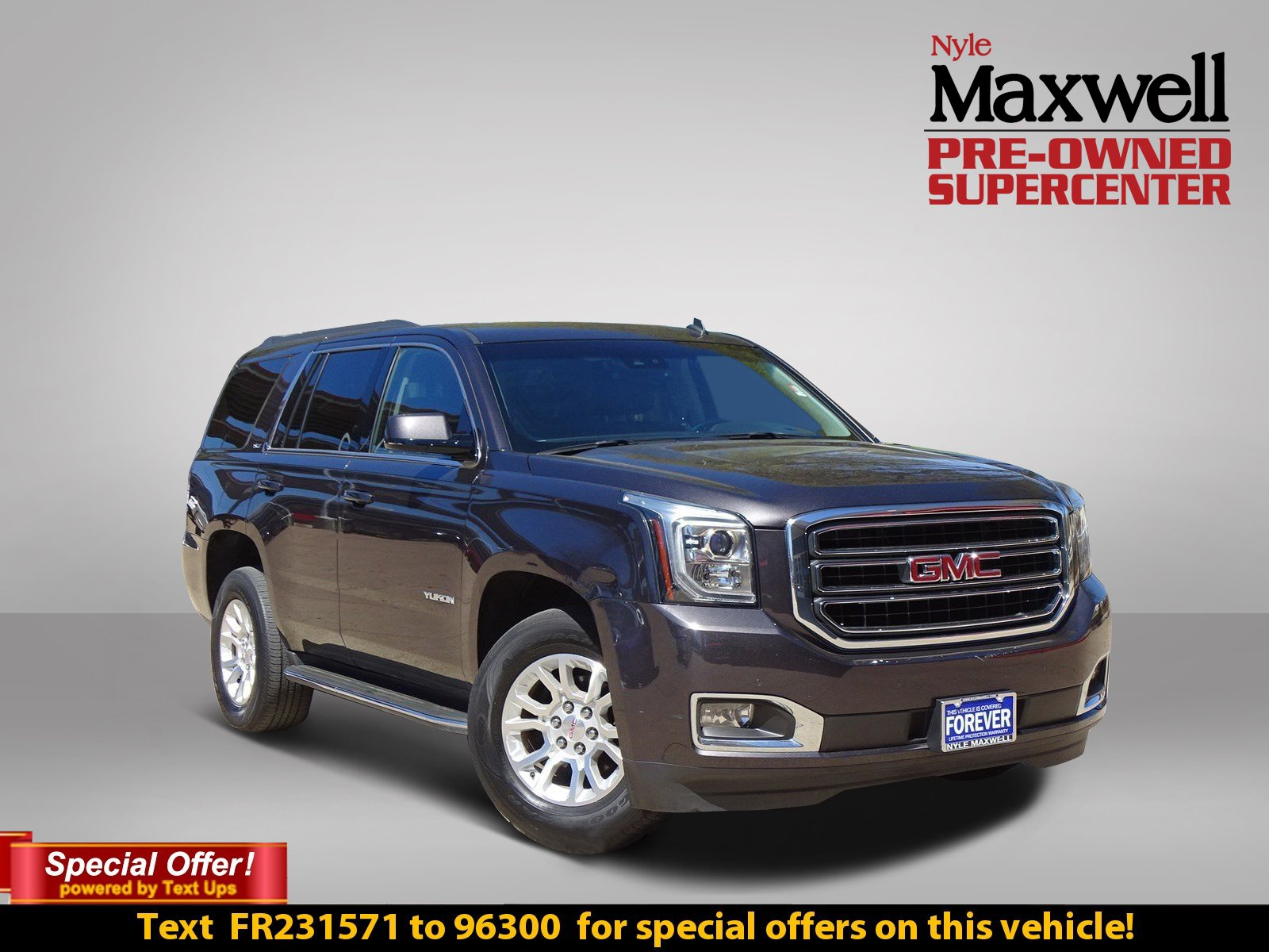 Photo PRE-OWNED 2015 GMC YUKON SLT WITH NAVIGATION