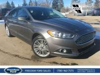 Used 2014 Ford Fusion SE Leather, Navigation, Backup Camera Front Wheel Drive 4 Door Car