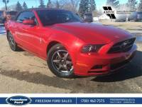 Used 2013 Ford Mustang V6 Leather, Navigation, Heated Seats Rear Wheel Drive 2 Door Car