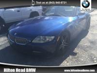 2007 BMW Z4 Roadster 3.0si 3.0si * Local Trade In * 6-Speed Manual Transmissi Convertible Rear-wheel Drive