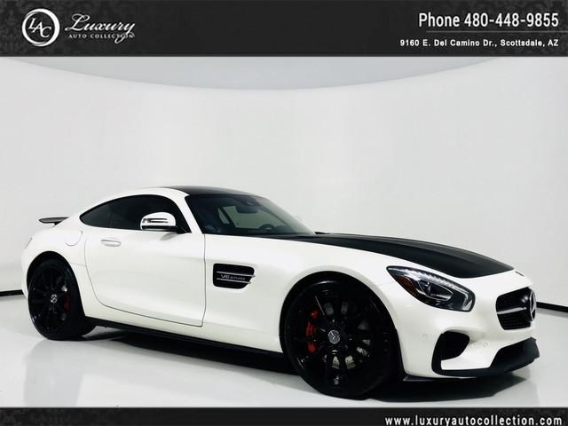 Photo 2016 Mercedes-Benz AMG GT S  Navigation  Rear Camera  Carbon  Red Calipers  17 18 With Navigation