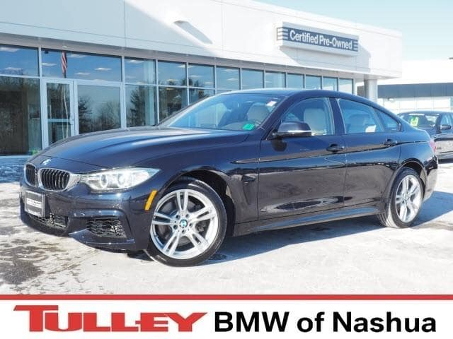 Photo 2015 Certified Used BMW 4 Series Coupe Carbon Black For Sale Manchester NH  Nashua  StockB18039M