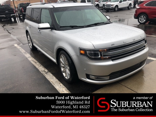 Photo Used 2013 Ford Flex Limited SUV V-6 cyl in Waterford, MI