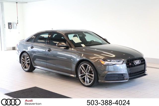 Photo Used 2016 Audi S6 4.0T Premium Plus Sedan for Sale in Beaverton,OR