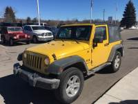PRE-OWNED 2008 JEEP WRANGLER X 4WD