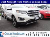 2016 Ford Edge Titanium SUV I4 ECOBOOST ENGINE