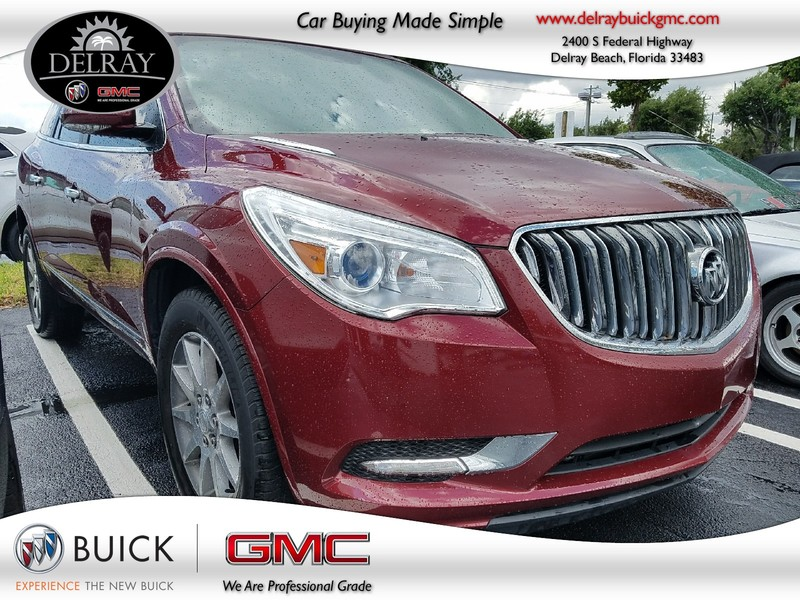 Photo Pre-Owned 2017 BUICK ENCLAVE LEATHER Front Wheel Drive Sport Utility Vehicle