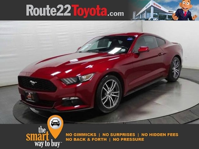 Photo 2015 Ford Mustang EcoBoost Premium Coupe Rear-wheel Drive