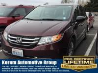 Used 2014 Honda Odyssey LX Van Passenger Van V-6 cyl for Sale in Puyallup near Tacoma