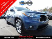 Certified Pre-Owned 2015 Toyota Highlander XLE V6 in Bristol, CT