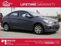 2012 Hyundai Accent Sedan Front-wheel Drive in Chattanooga, TN