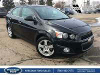 Used 2014 Chevrolet Sonic LT Sunroof, Cloth Seats Front Wheel Drive 4 Door Car