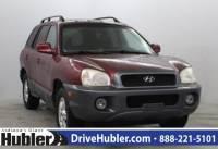 Used 2003 Hyundai Santa Fe LX SUV