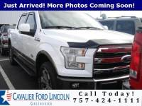 2016 Ford F-150 King Ranch Crew Cab Truck V8 32V MPFI DOHC Flexible Fuel