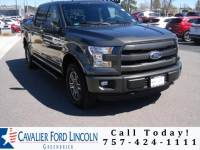 2015 Ford F-150 Lariat Crew Cab Long Bed Truck V8 32V MPFI DOHC Flexible Fuel