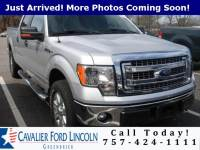 2014 Ford F-150 XLT Crew Cab Short Bed Truck V8 32V MPFI DOHC Flexible Fuel