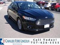 2016 Ford Fusion Titanium Sedan I4 16V GDI DOHC Turbo