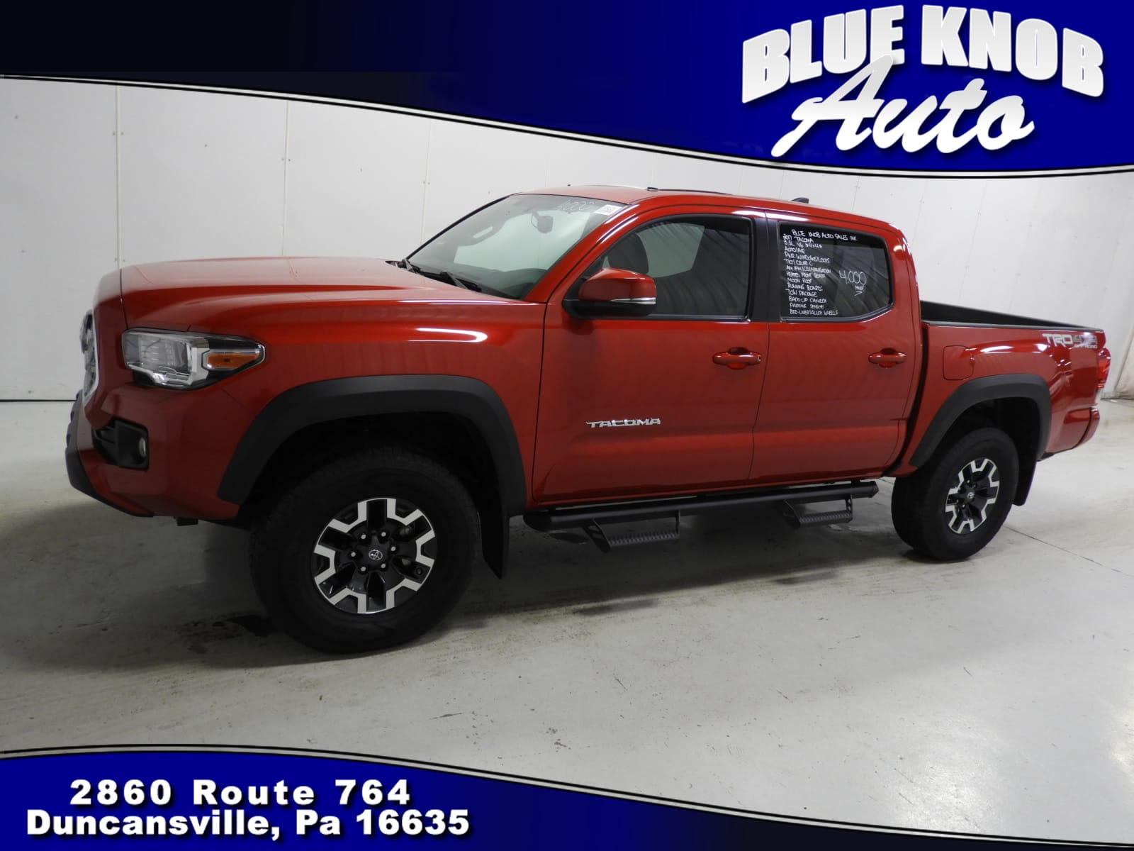 Photo 2017 Toyota Tacoma TRD Sport V6 Truck Double Cab in Duncansville  Serving Altoona, Ebensburg, Huntingdon, and Hollidaysburg PA