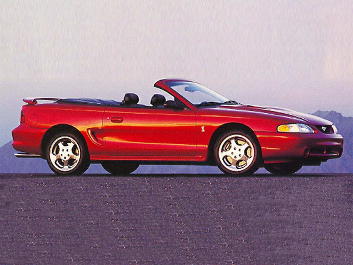 Photo 1998 Ford Mustang Cobra Convertible for sale near Bluffton