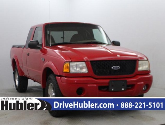 Photo Used 2001 Ford Ranger Supercab 4.0L XLT 4WD w392A Pickup