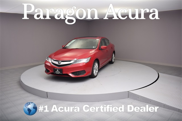 Photo Certified Pre-Owned 2017 Acura ILX Base FWD 4D Sedan