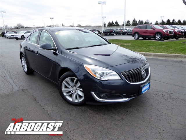 Photo Pre-Owned 2014 Buick Regal Turbo With Navigation