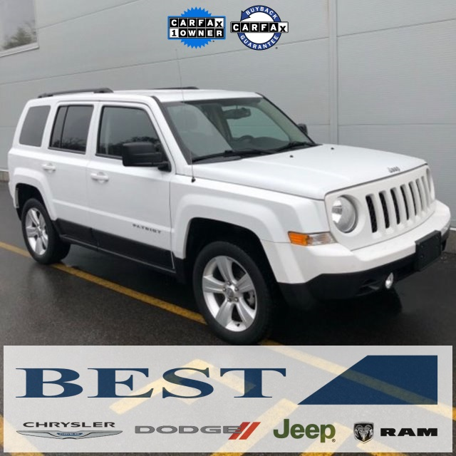 Photo CERTIFIED PRE-OWNED 2015 JEEP PATRIOT LATITUDE 4WD