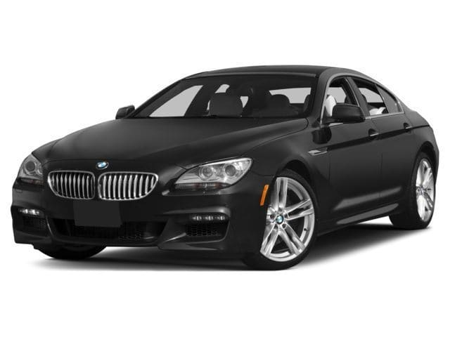 Photo 2015 Certified Used BMW 6 Series Gran Coupe Black Sapphire For Sale Manchester NH  Nashua  StockMPA2465