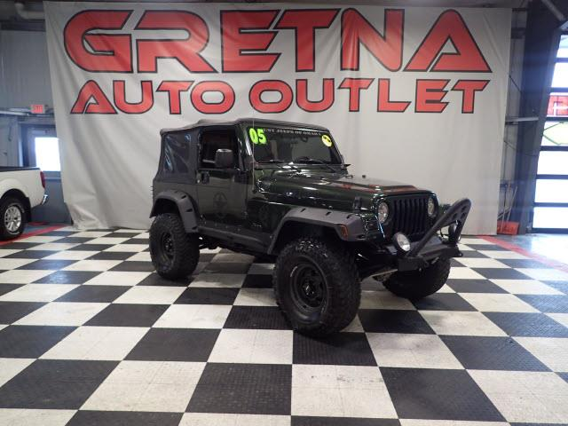 Photo 2005 Jeep Wrangler LIFTED TJ SPORT WILLYS EDITION 4X4 4.0L 6 SPEED