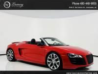 2011 Audi R8 5.2L | Navi | Rear Camera | Carbon Fiber Int | Ext Warranty | 12 13 14 All Wheel Drive Convertible