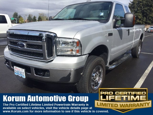 Photo Used 2006 Ford F-250 Truck Super Cab V-8 cyl for Sale in Puyallup near Tacoma