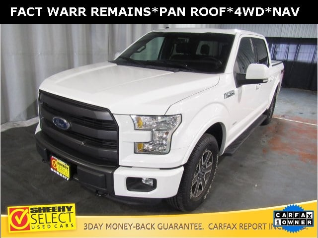 Photo Used 2015 Ford F-150 Lariat Truck SuperCrew Cab in White Marsh, MD