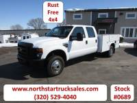 Used 2008 Ford F-350 4x4 Service Utility Truck