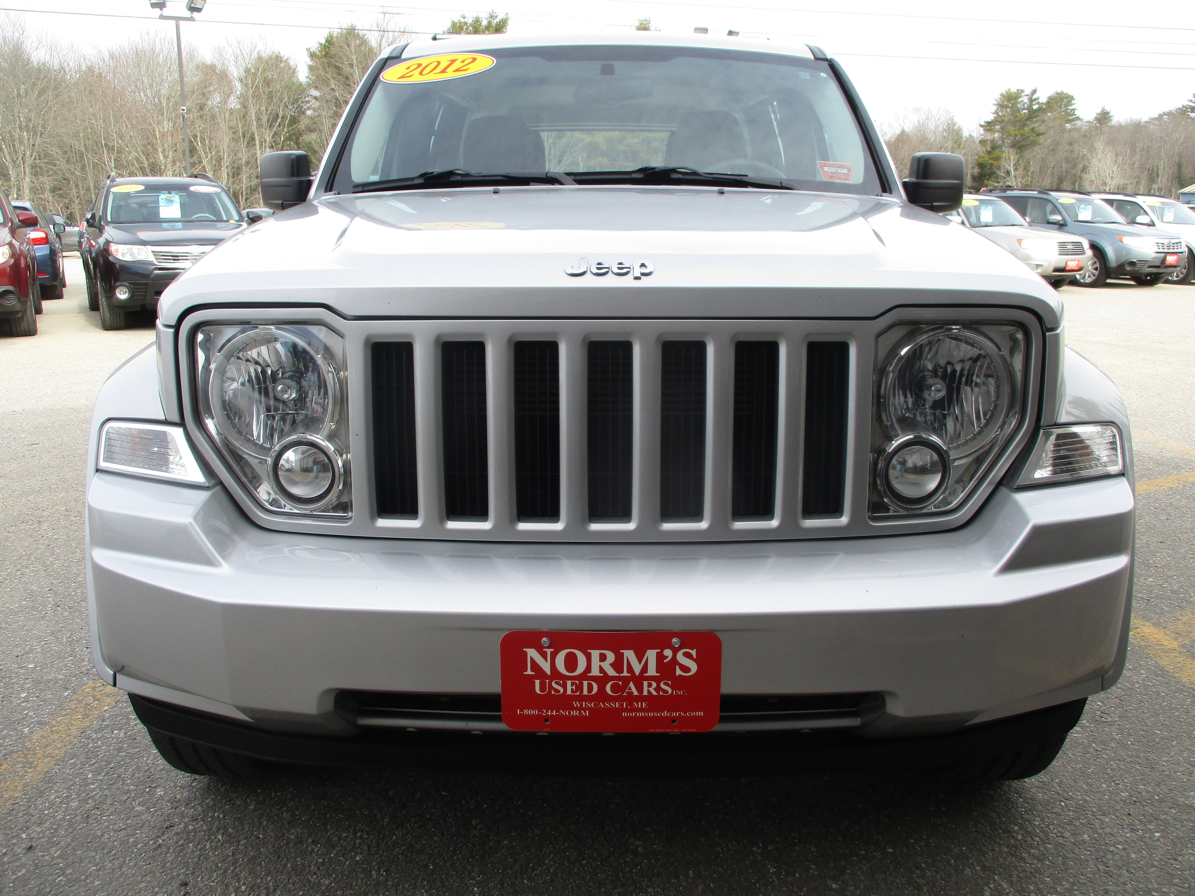 Photo Used 2012 Jeep Liberty For Sale  Wiscasset ME