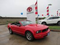 Used 2005 Ford Mustang V6 Convertible RWD For Sale in Houston