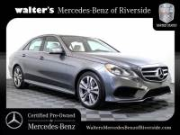 Certified Pre-Owned 2016 Mercedes-Benz E 350 Sport