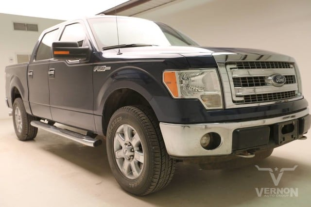 Photo Used 2013 Ford F-150 XLT Texas Edition Crew Cab 4x4 in Vernon TX