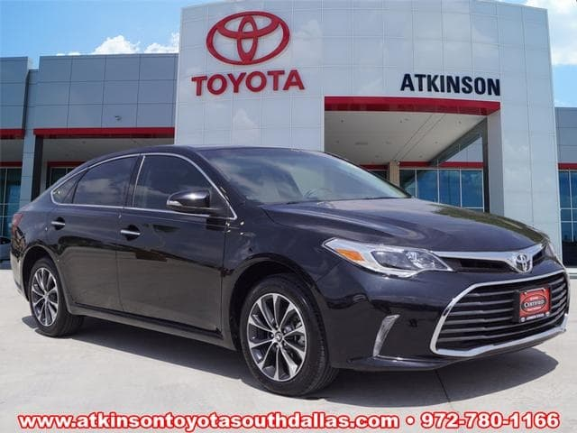 Photo 2016 Toyota Avalon Sedan For Sale in Dallas TX  Toyota Certified Used