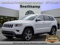 Used 2015 Jeep Grand Cherokee Limited 4x4 for sale near Detroit