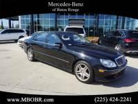 Pre-Owned 2006 Mercedes-Benz S 500 Rear Wheel Drive SEDAN