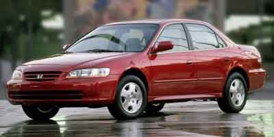 Photo Pre-Owned 2002 Honda Accord Sedan EX with Leather FWD 4dr Car