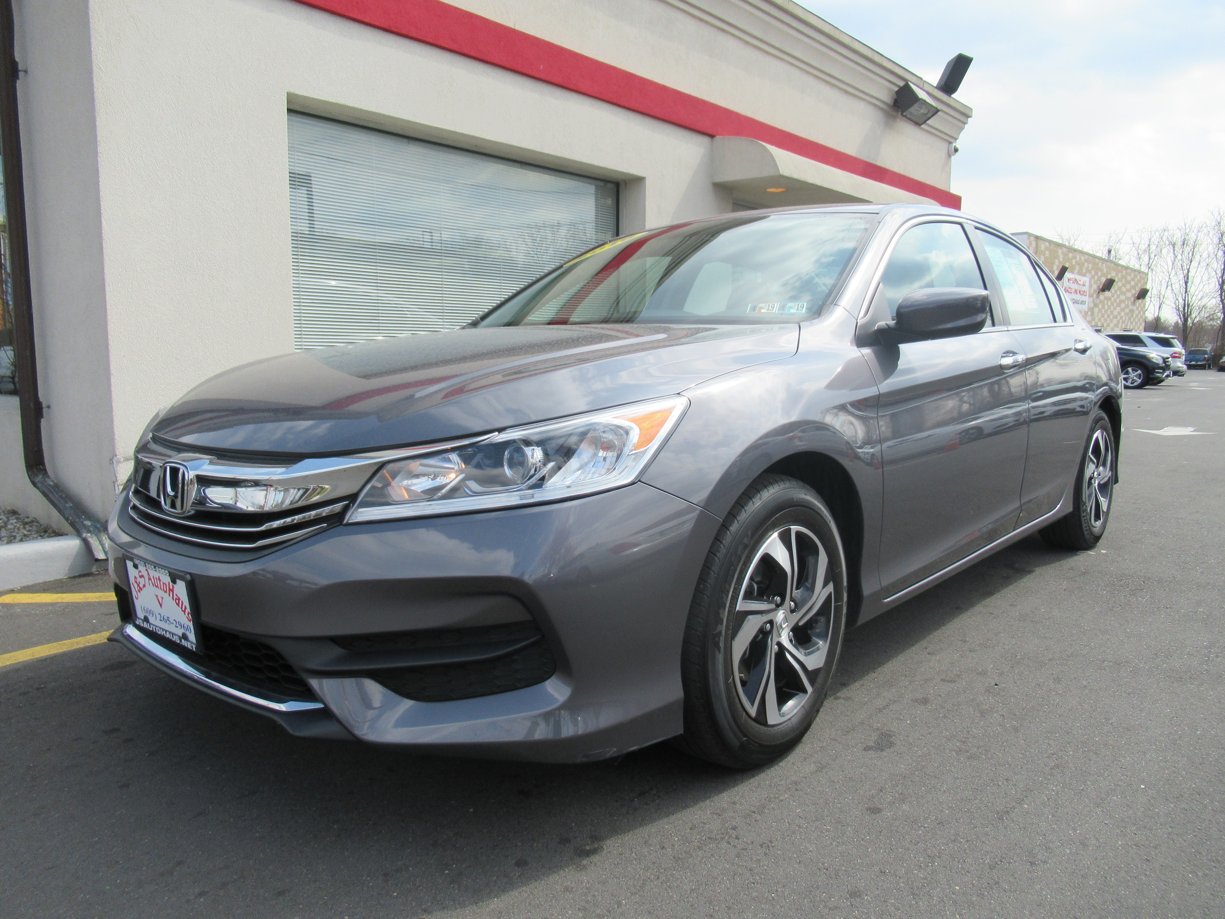 Photo Used 2016 Honda Accord Stock NumberB498 For Sale  Trenton, New Jersey