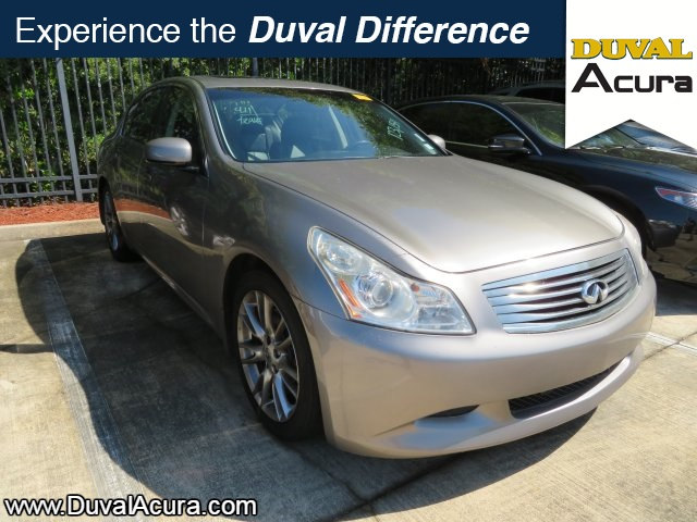 Photo Used 2007 INFINITI G35 For Sale  Jacksonville FL
