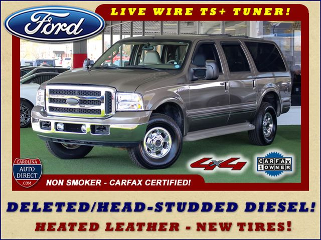Photo 2003 Ford Excursion Limited 4X4 - TURBO DIESEL - BRAND NEW TIRES