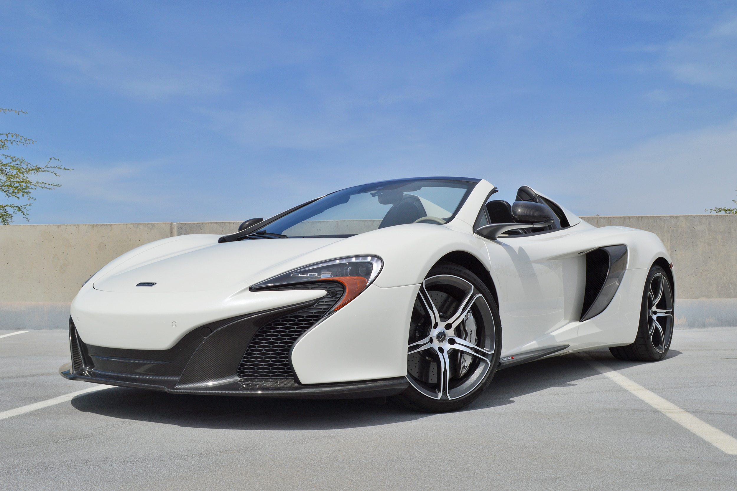 Photo Certified Pre-Owned 2016 McLaren 650S Spider Convertible For Sale Scottsdale, AZ