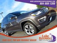Certified Used 2017 Jeep Compass Limited Limited 4x4 For Sale NearAnderson, Greenville, Seneca SC