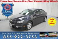 Used 2016 Chevrolet Cruze Limited LT