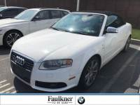 Used 2007 Audi S4 8HE549 2007 Cabriolet Manual in Lancaster PA