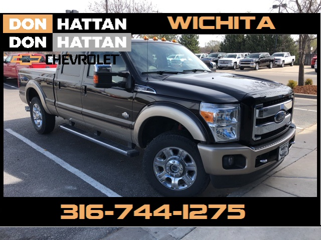 Photo Pre-Owned 2013 Ford F-250SD King Ranch 4WD