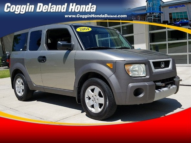 Photo Pre-Owned 2004 Honda Element EX wSide Airbags SUV in Jacksonville FL